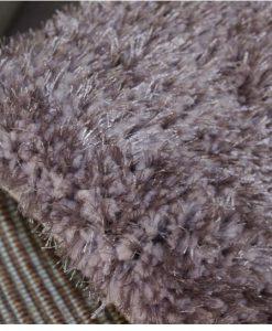 Ворсистый ковер Shaggy Шаги Puffy lilac Ш-74