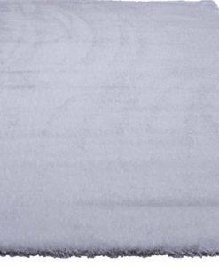 Ворсистый ковер Shaggy Шаги Puffy white Ш-76